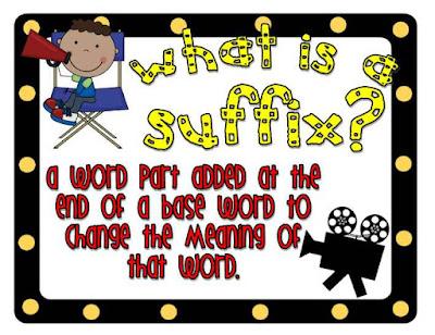 Prefix Suffix Postfix