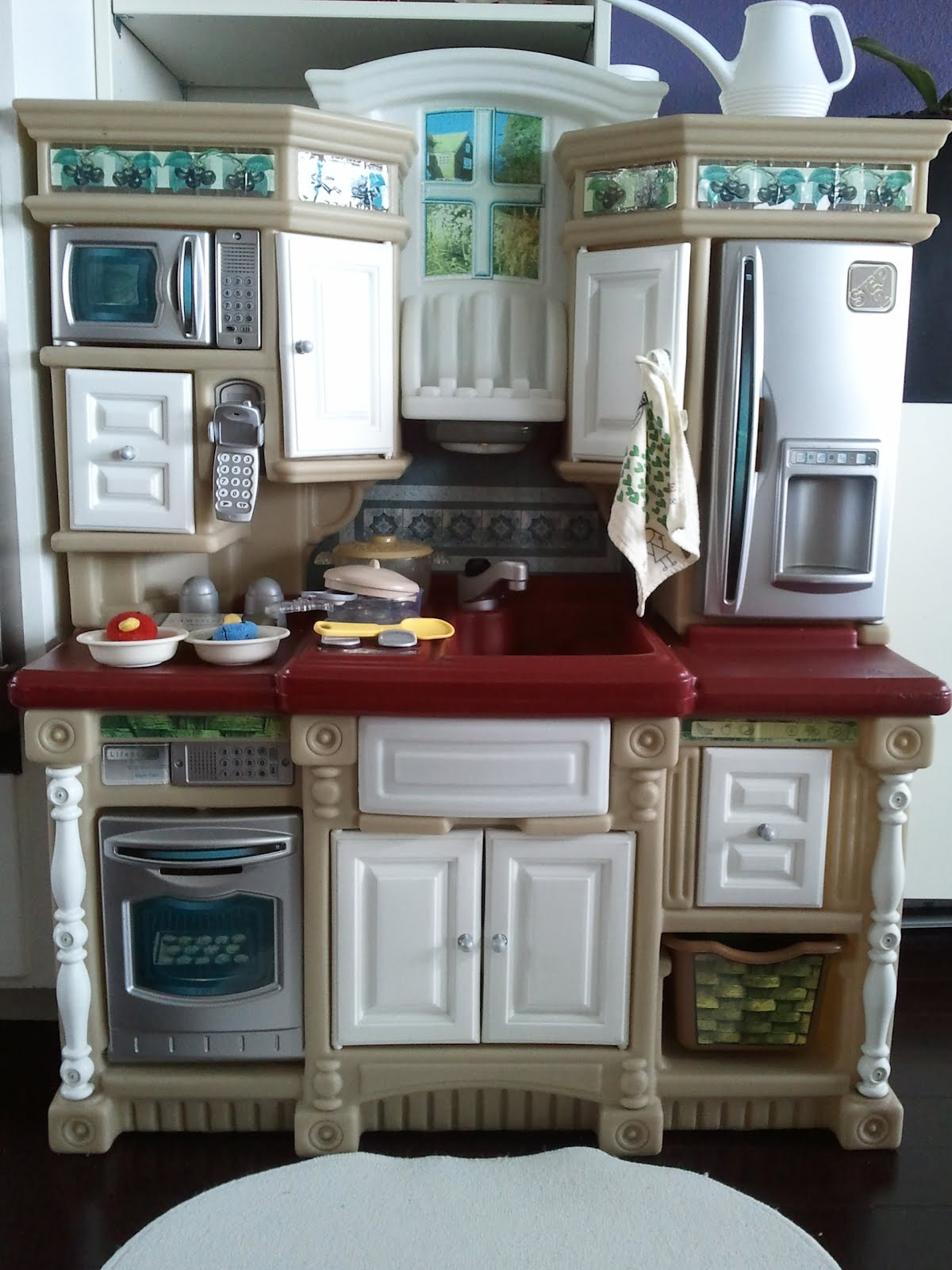 Step 2 Lifestyle Kitchen beautiful step 2 play kitchen y intended ideas