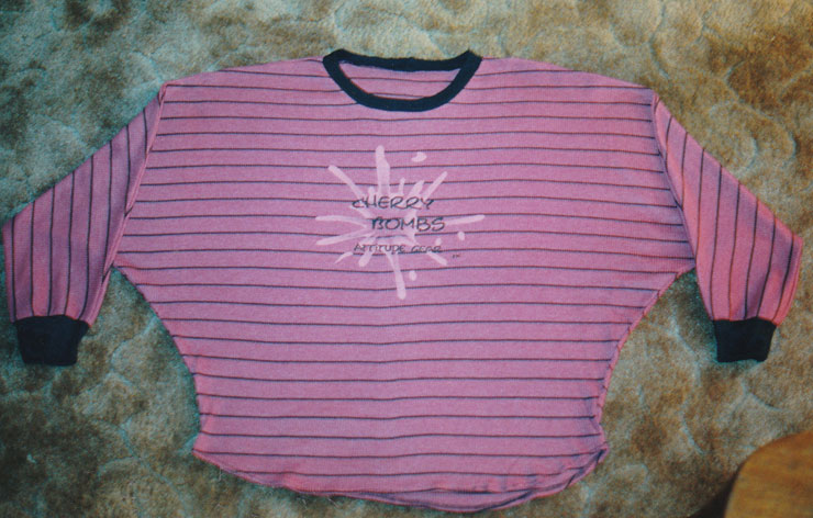 cherry bombs batwing top