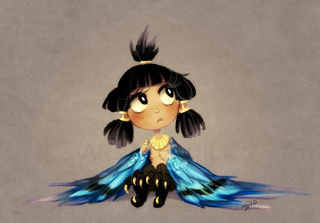 Harpy Girl por ArandaDill
