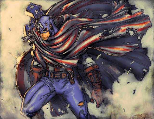 Captain America : Fallen Son por Z-control