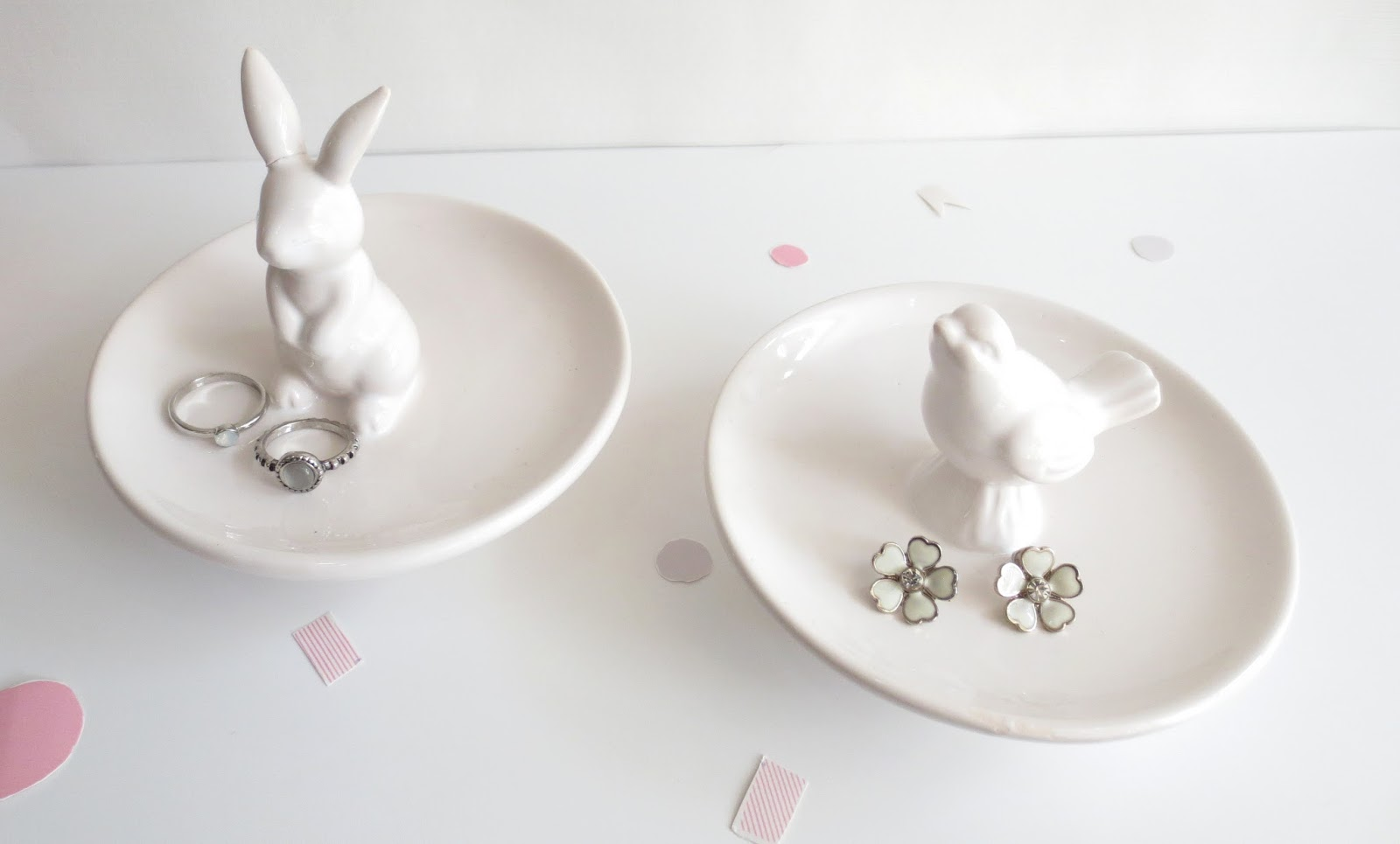 home bargains jewellery holder bird rabbit