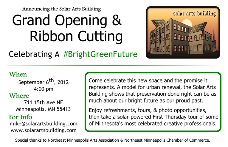 Minnesota rising august 2012 please join us for the celebration of a brightgreenfuture our entire community worked with us to bring this historical piece of northeast back to life stopboris Gallery