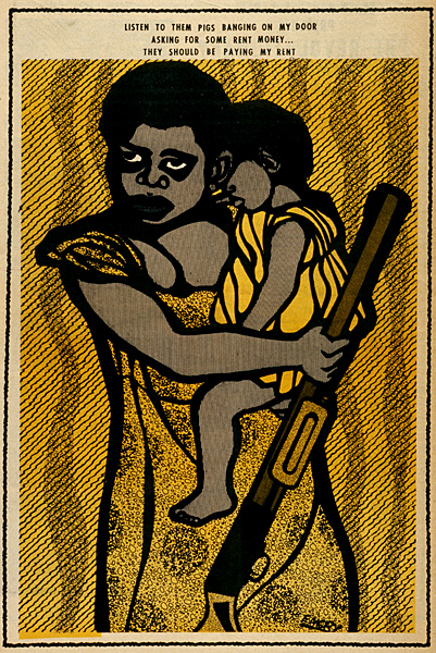 Panteras Negras - Lejos Del Centro