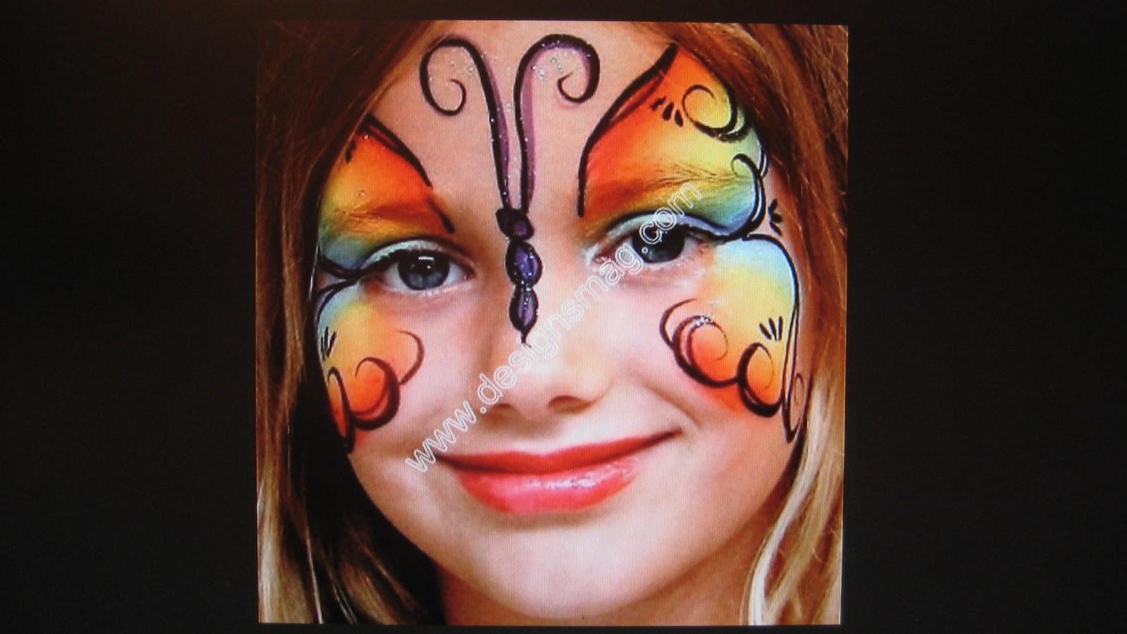 Розмальоване лице фото 18 фотография