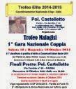 "1° Gara NAZ. COPPIA ""Trofeo MALAGISI"" Pol.va Castelletto-PR"