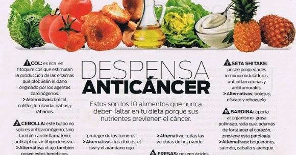 El rbol de la vida nuestra despensa anti cancer - Alimentos previenen cancer ...