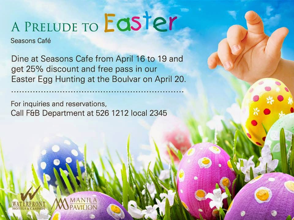 2014 Easter Egg Hunting Events in Metro Manila