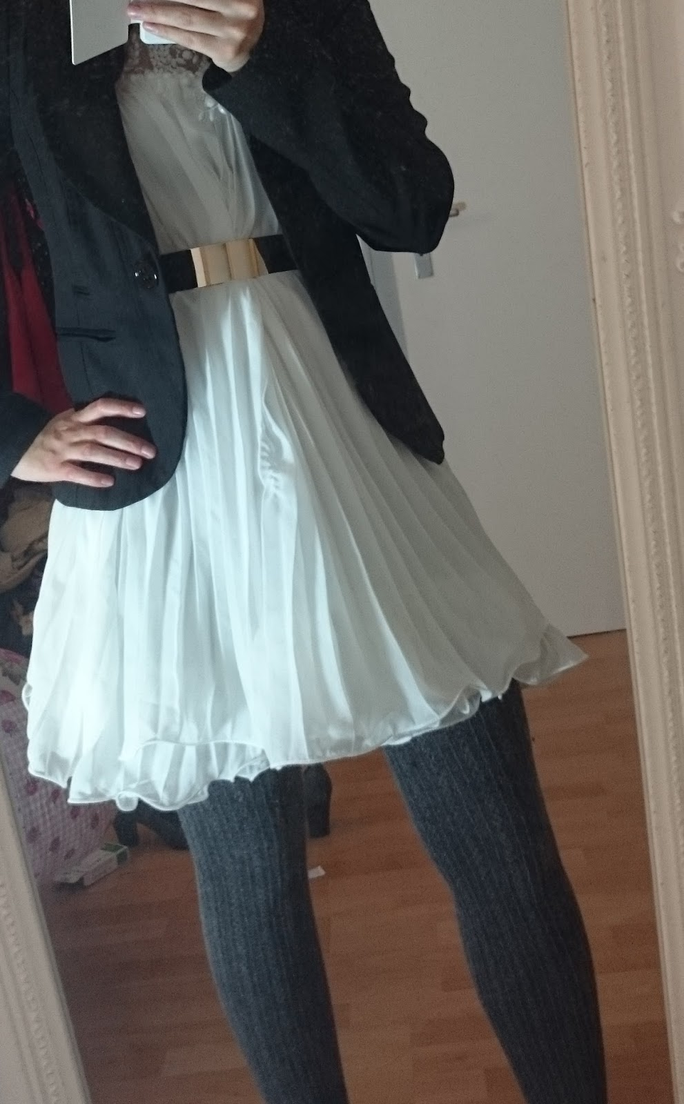 Kleid im Winter