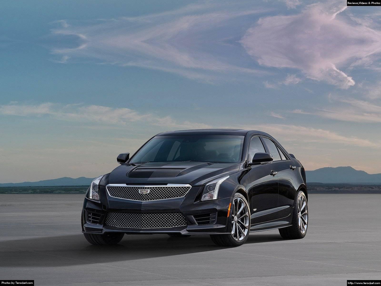Hình ảnh xe ô tô Cadillac ATS-V Sedan 2016 & nội ngoại thất
