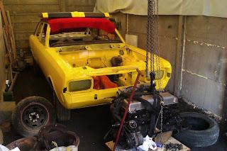Opel Rekord C z silnikiem C30LE