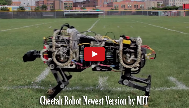 Watch Cheetah Robot Newest Version by Massachusetts Institute of Technology (MIT) Video