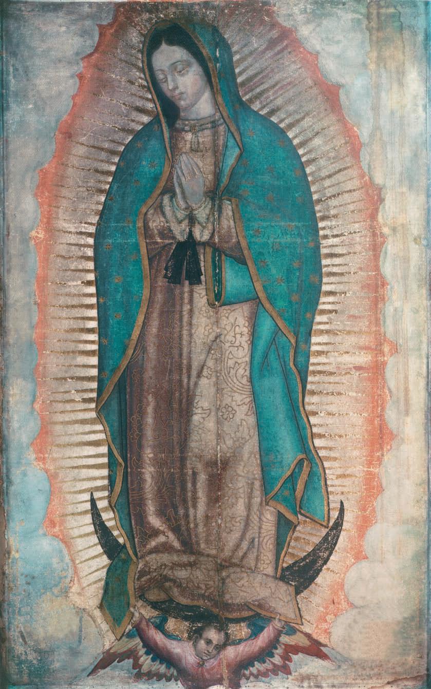 Bức ảnh Đức Mẹ Guadalupé làm khoa học hiện đại phải ngỡ ngàng