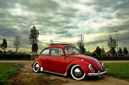 1968 VW Beetle Slammed