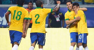 Video Gol Brazil vs Perancis 10 Juni 2013