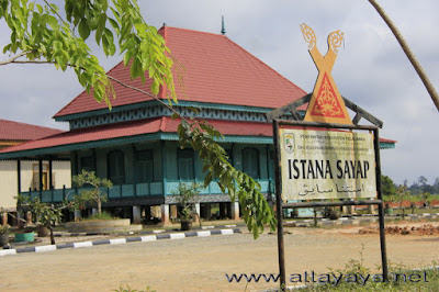 Photo-photo Istana Sayap Kerajaan Pelalawan Kerinci