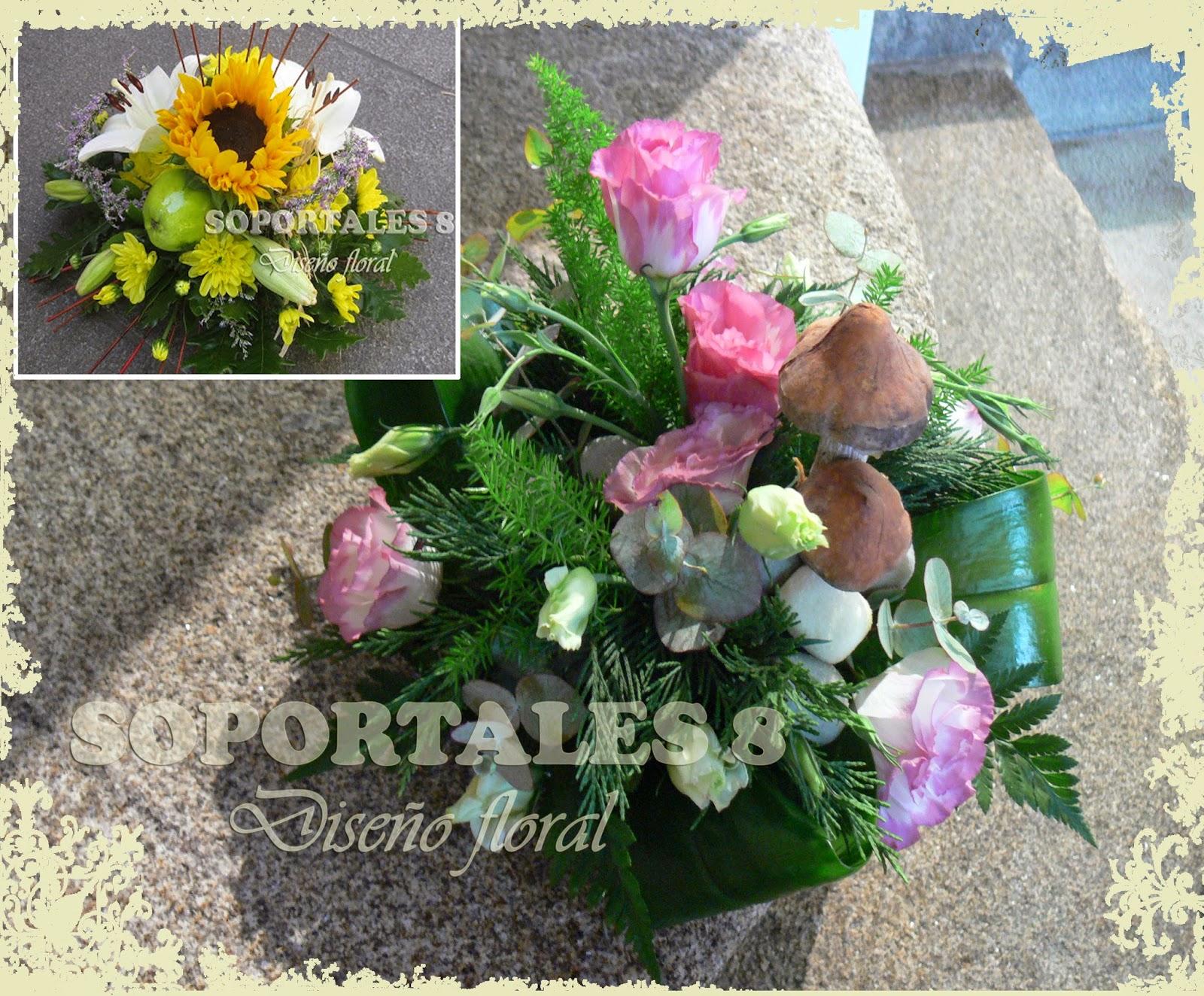 SOPORTALES 8 Diseño floral: septiembre 2013