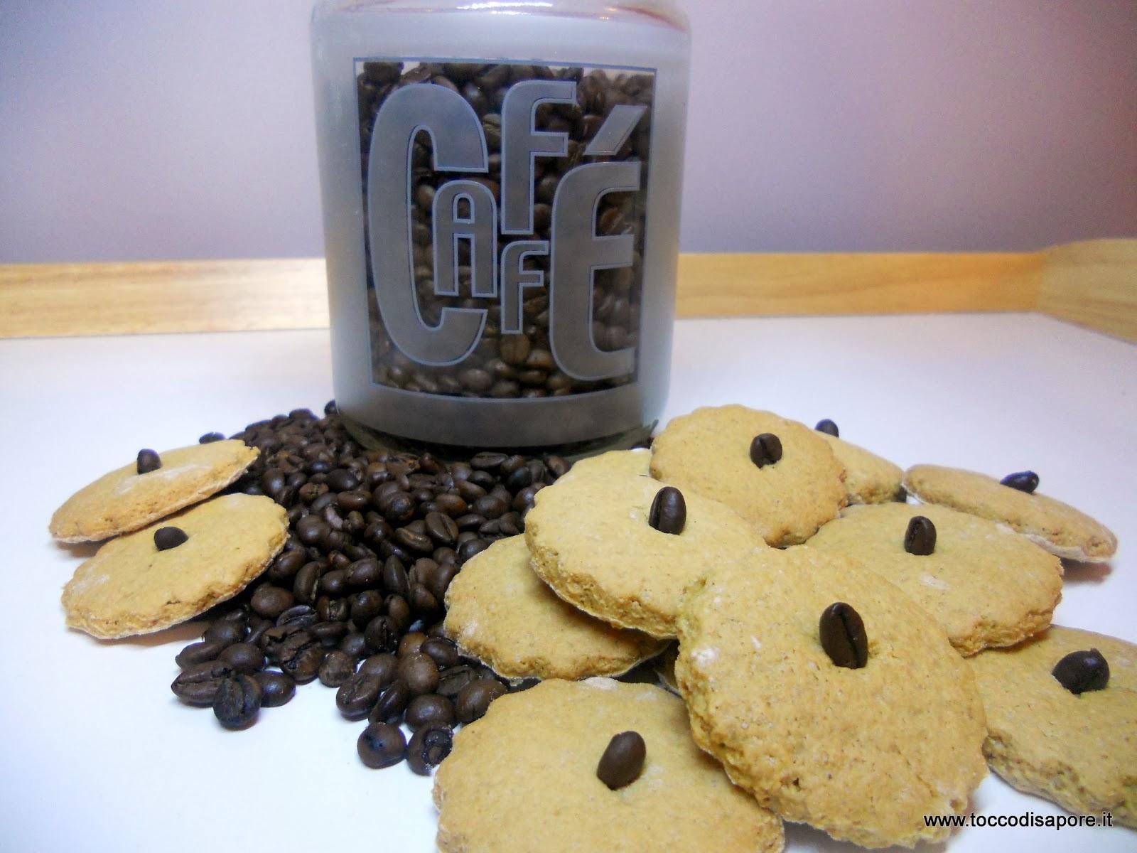 Biscotti al caffè senza burro