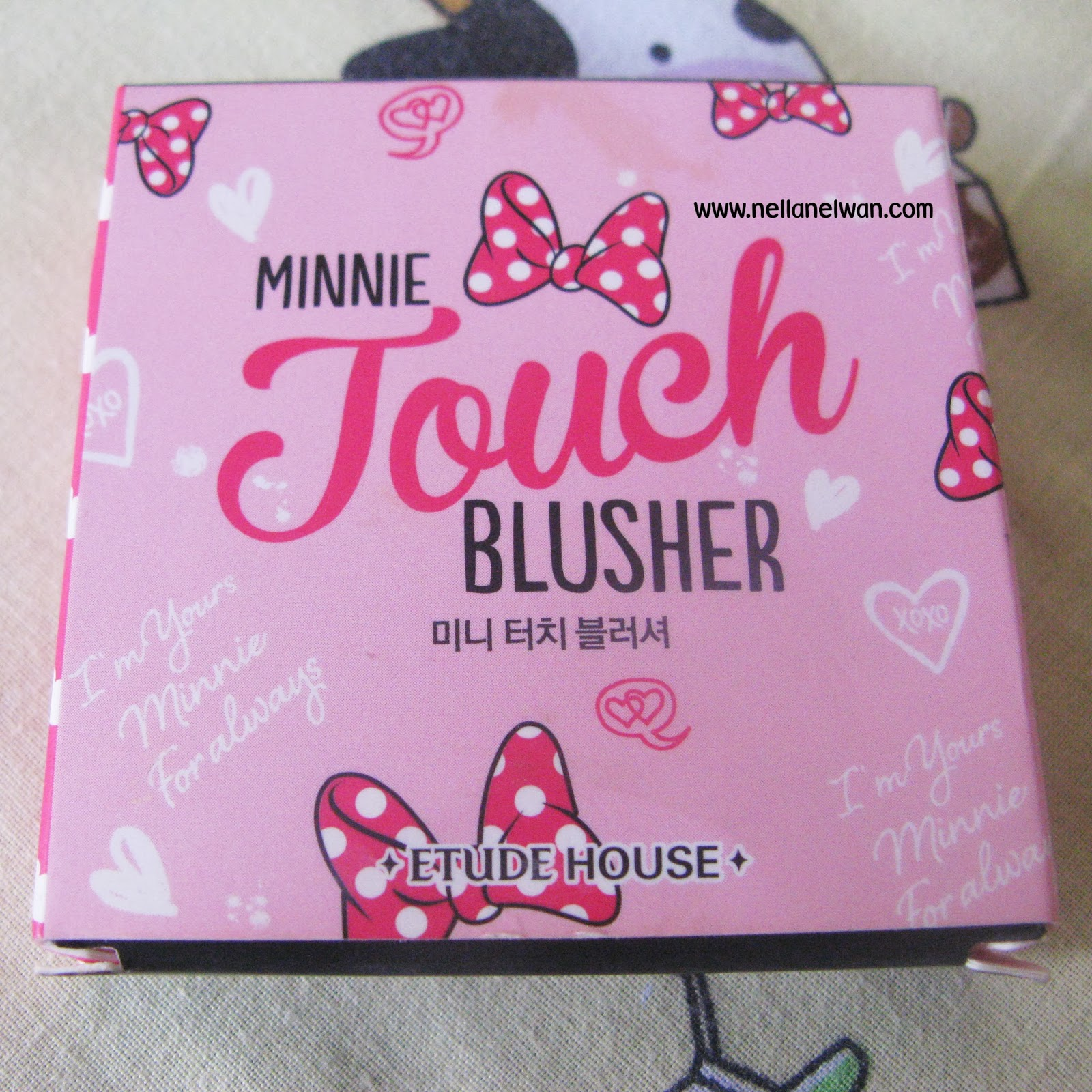 review etude house minnie touch blusher
