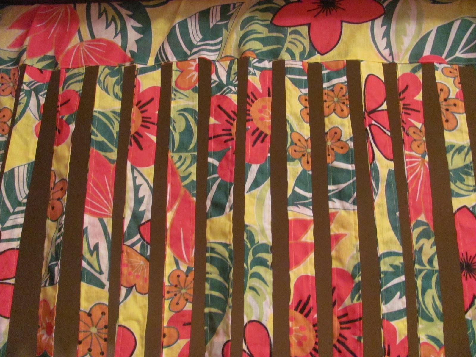 Carambolas da dona chita cortinas em chita - Como hacer cortinas de tiras ...