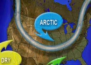 The jet stream for November 14, 2014. (Credit: accuweather.com) Click to Enlarge.