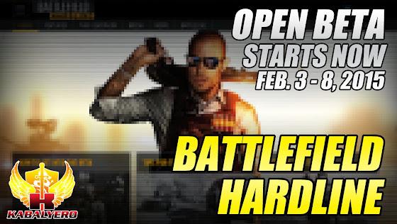 Battlefield Hardline, Open Beta, February 3 - 8, 2015