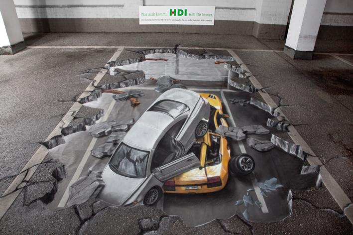 creative and cool 3d street art