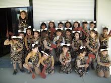 El clan minúsculo sale de carnaval