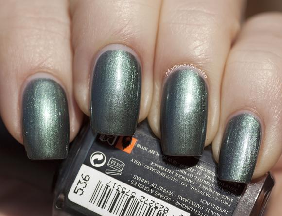 Kiko 536 Verde Quarzo Metallico