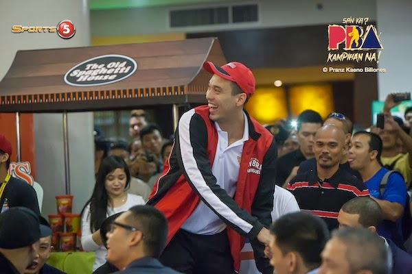 Greg Slaughter stood tall as the top overall pick in the 2013 PBA Draft.