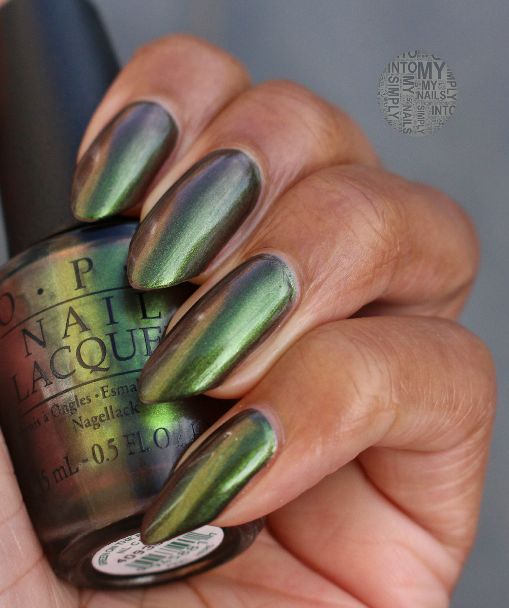 Green On The Runway by OPI | Simply Into My NAILS