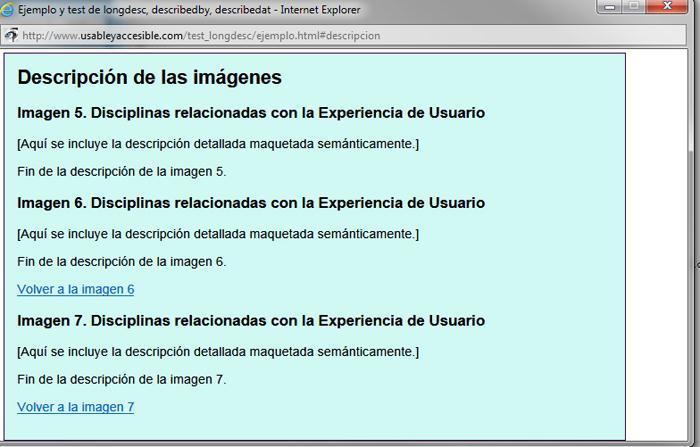 Ventana de Explorer con la descripción de varias imágenes. La ventana no tienen scroll ni barra de direcciones.
