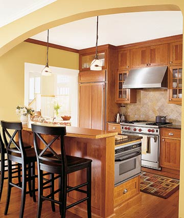 New home interior design kitchen cabinet wood choices for Kitchen cabinet choices
