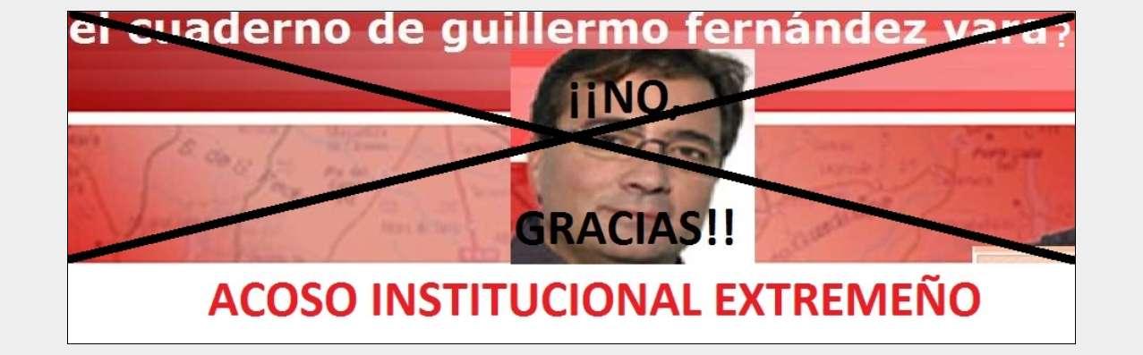 ¿EL CUADERNO DEL PRESIDENTE EXTREMEÑO, GUILLERMO FERNÁNDEZ VARA?. POR SUPUESTO QUE ÉSTE NO LO ES...