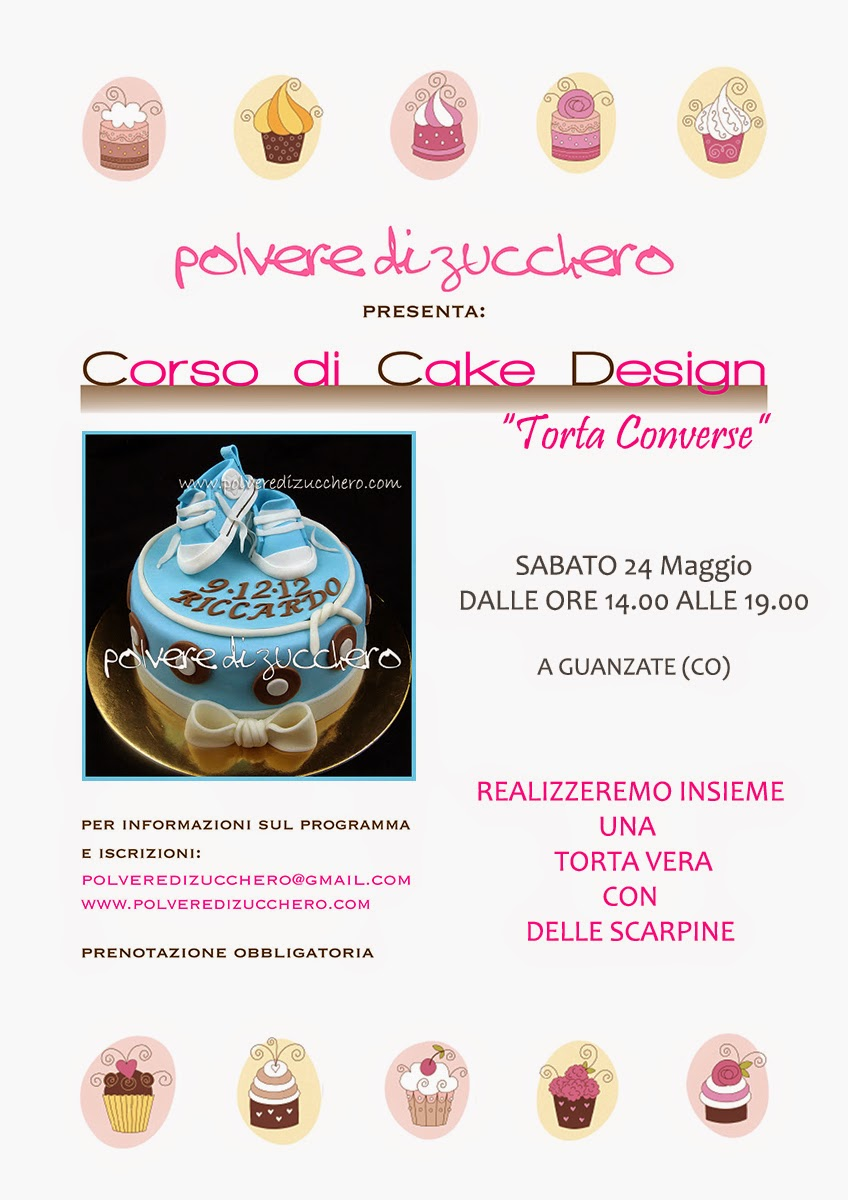 Calendario corsi cake design: torte, modelling, biscotti ...
