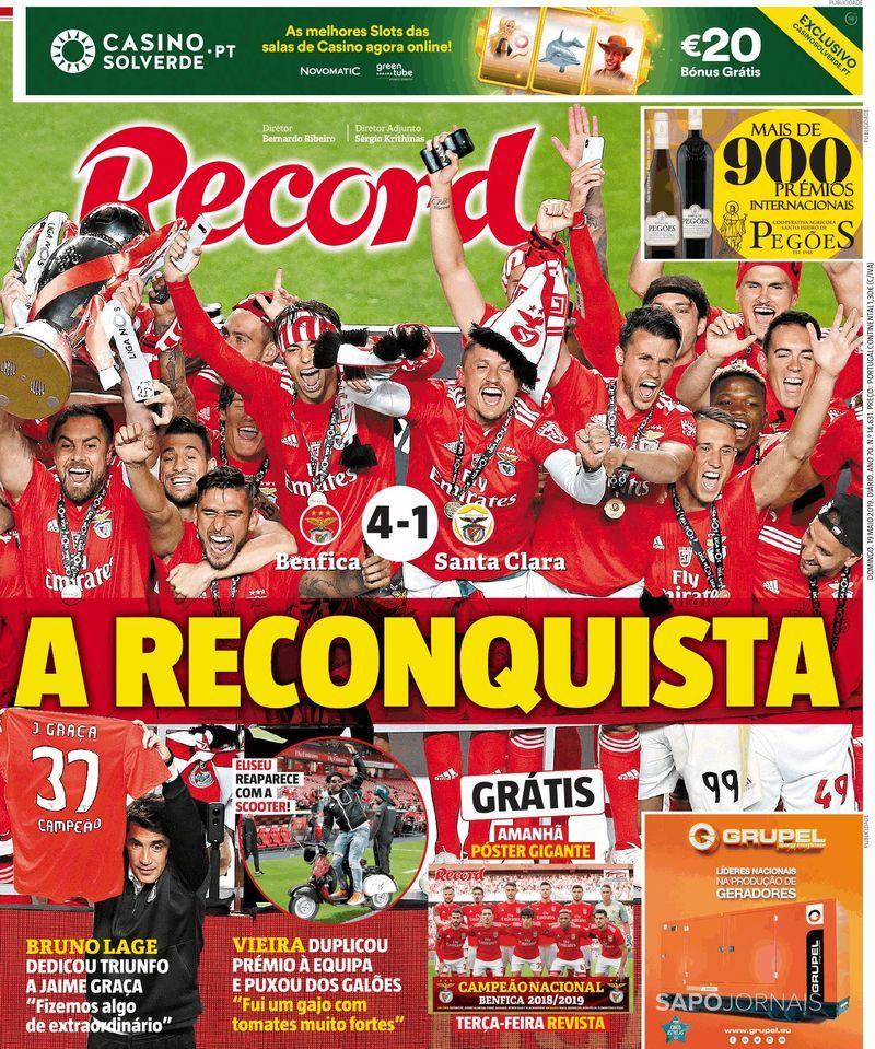 Benfica Campeão 18*19
