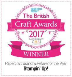 Stamping' up! 2017 awards