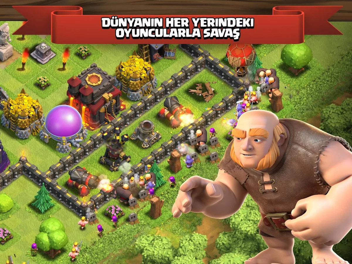 clash of clans apk indir cepde