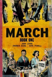 March: Book 1 cover page
