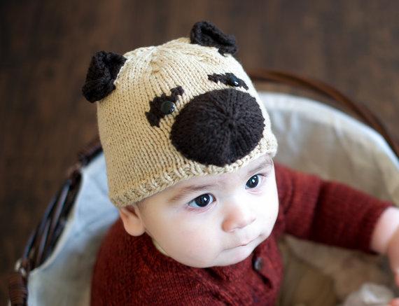 Knitting Pattern For Pug Hat : Life on Laffer: Pugsley