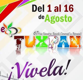 programa expo feria tuxpan 2015