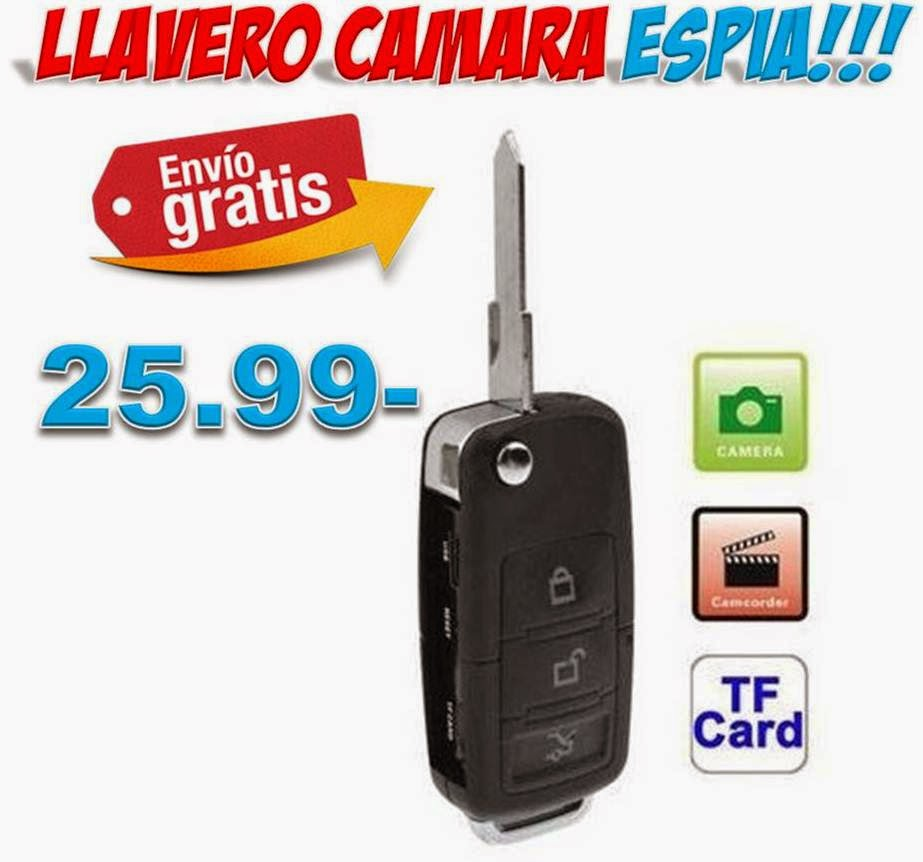 Video camara espia mando coche