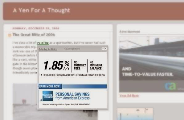Inline Text advertising