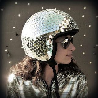 Disco Ball Motorcycle Helmet