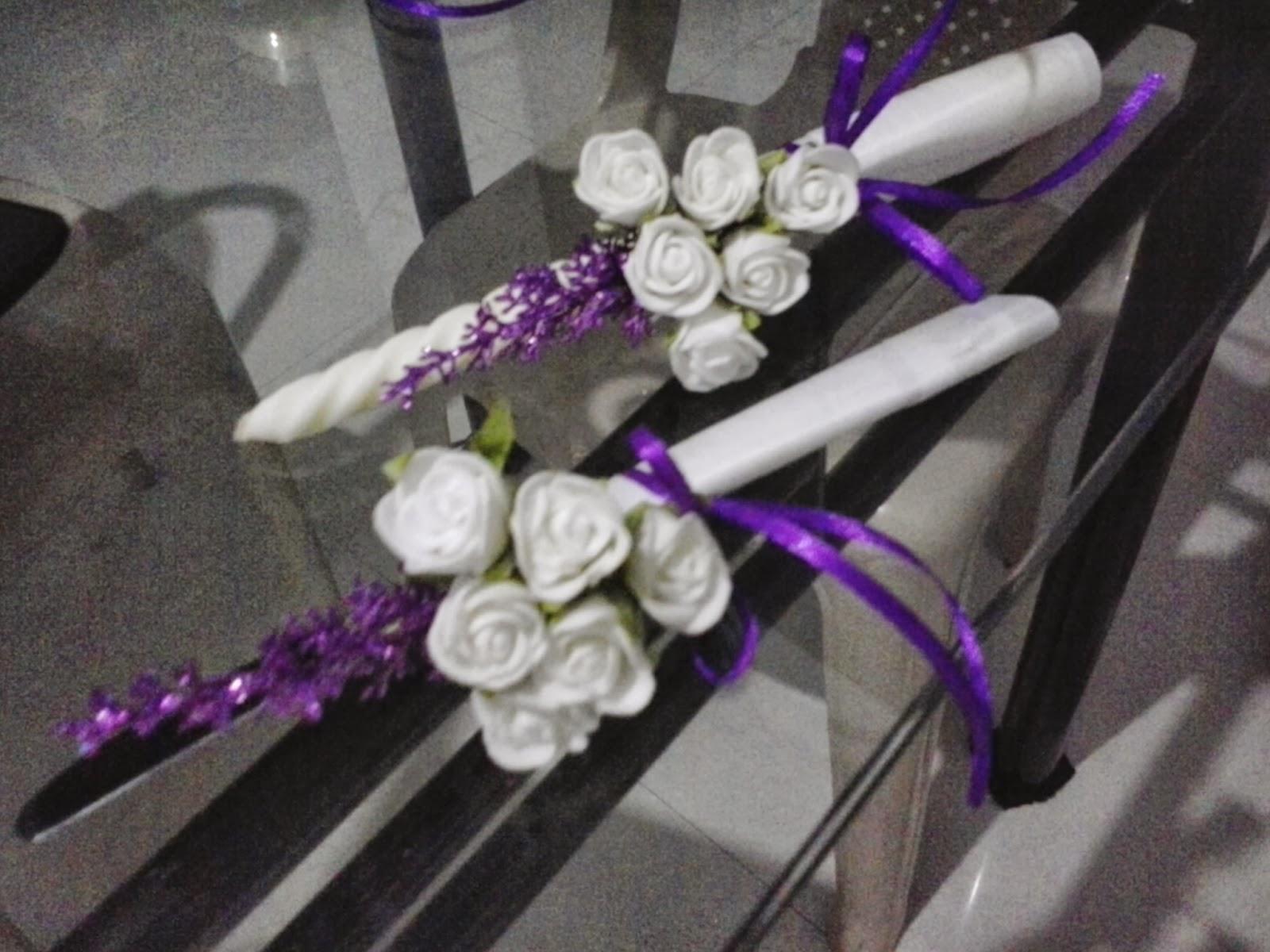 wedding cake knife decoration