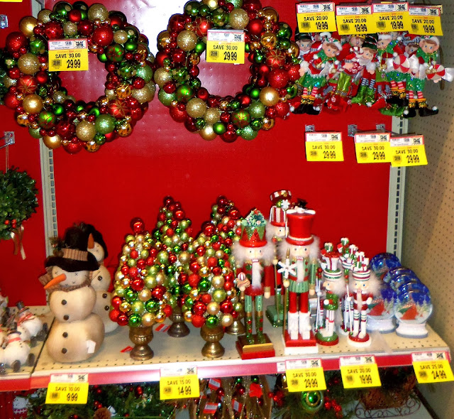 a debbie dabble christmas christmas in the stores wegmans kohls - Kohls Christmas Decorations