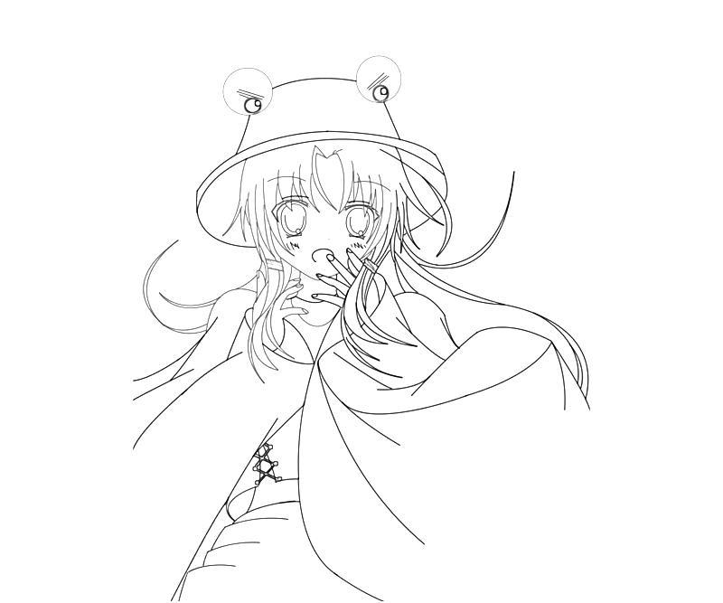 printable-suwako-moriya-art-coloring-pages