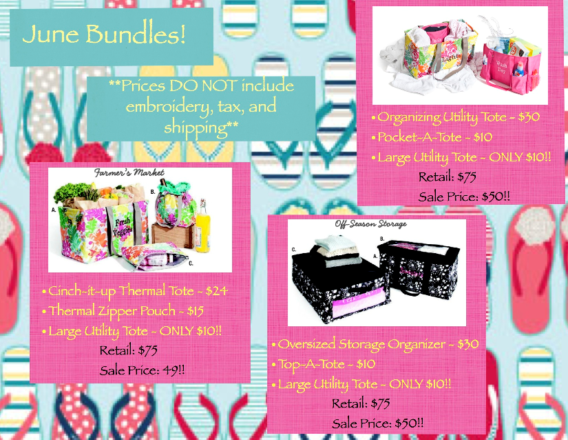 Thirty One Bags Special For July 2013
