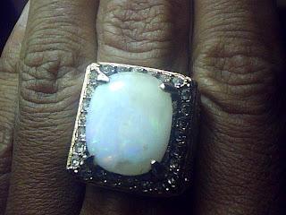 Batu Cincin Kalimaya Banten Susu