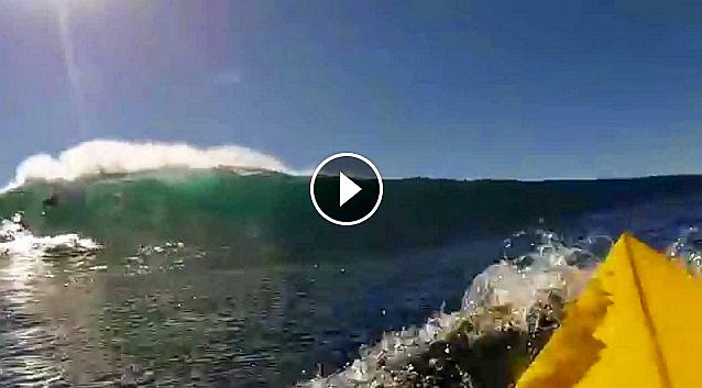 How not to surf Todos Santos